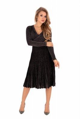 Merribel Frojene Black Šaty