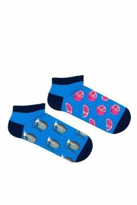 Milena Avangard nepárové 1108 Kotníkové ponožky
