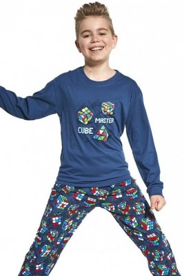 Cornette Young Boy 966/102 Cube Master 134-164 Chlapecké pyžamo