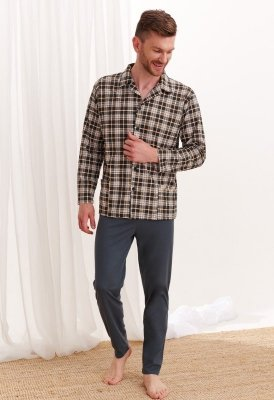 Taro Gracjan 788 Pánské pyžamo super size plus