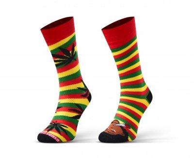 Sesto Senso Finest Cotton Duo Marihuanové Ponožky