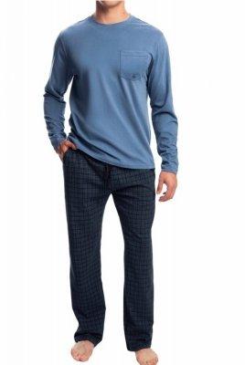 Atlantic NMP-338 modré Pánské pyžamo