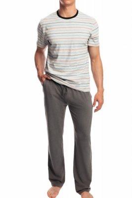 Atlantic NMP-336 šedé Pánské pyžamo
