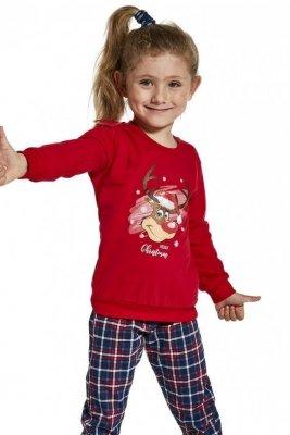 Cornette Young Girl 592/130 Reindeer 134-164 Dívčí pyžamo