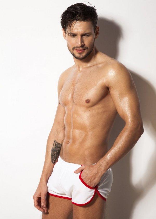 Alpha Male Imago White Pánské plavky