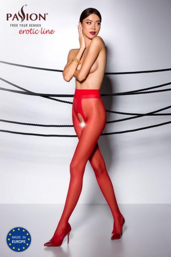 Passion Tiopen 007 roso 20 den Punčochové kalhoty