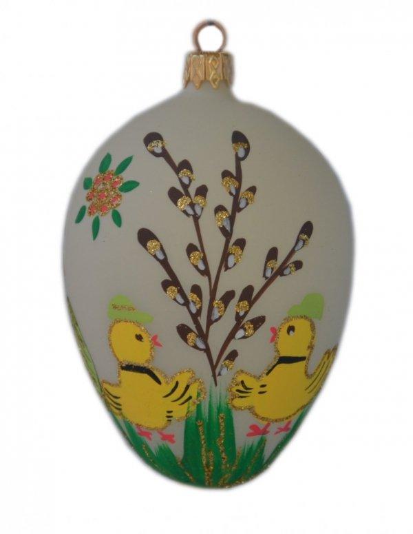 Jajo duże dekorowane