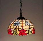 Lampa żyrandol zwis witraż  STORCZYK 23cm