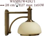 Kinkiet mosiężny JBT Stylowe Lampy WKMB/W42K/1