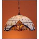 Lampa żyrandol zwis witraż Classic 40cm