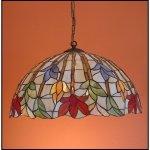 Lampa żyrandol zwis witraż STORCZYK 50cm