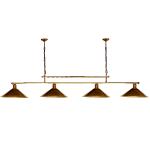 Żyrandol mosiężny JBT Stylowe Lampy WZMB/W34/4ŚD/340410