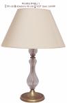Lampka  mosiężna JBT Stylowe Lampy WLMB/W08/L