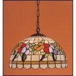 Lampa żyrandol zwis witraż LATO 30cm