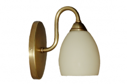 Kinkiet mosiężny JBT Stylowe Lampy WKMB/W70K/1