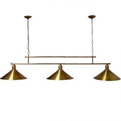 Żyrandol mosiężny JBT Stylowe Lampy WZMB/W34/3ŚD/(340410)
