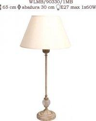 Lampka mosiężna JBT Stylowe Lampy WLMB/90330/1MB