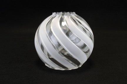 Klosz szklany kula otwarta 14cm E27