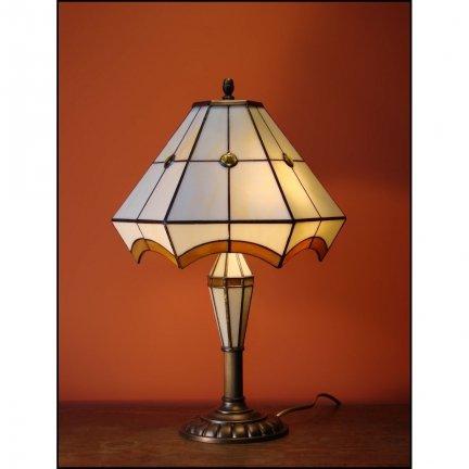 Lampka witrażowa nocna biurkowa PIERO H-48cm