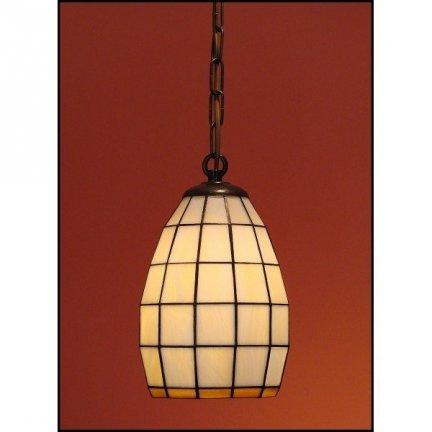 Lampa żyrandol zwis witraż Clasic 14cm