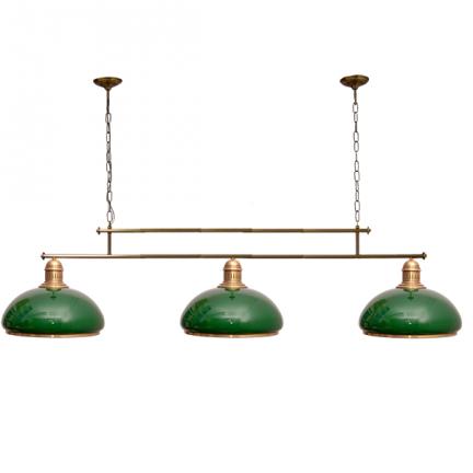 Żyrandol mosiężny JBT Stylowe Lampy WZMB/W34/3ŚD/50070