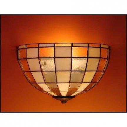 Lampa ścienna kinkiet witraż MODERNUS 30cm