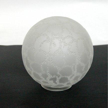 Klosz szklany kula 12 cm,klosz kulka