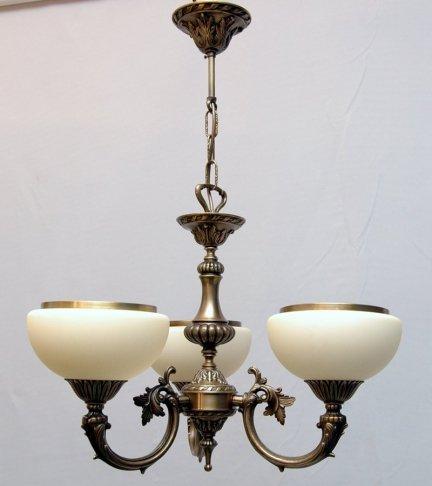 Żyrandol mosiężny JBT Stylowe Lampy WZMB/557/3