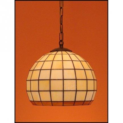 Lampa żyrandol zwis witraż KULA 25cm