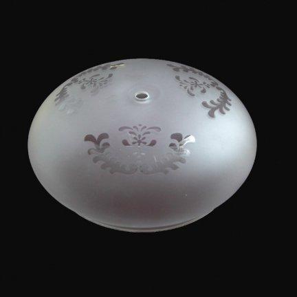 Klosz szklany K2307- klosze do lamp