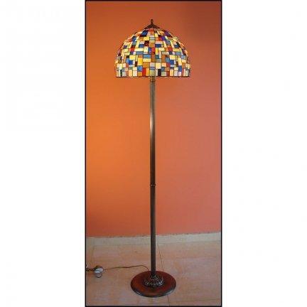 Lampa witrażowa podłogowa stojąca MOZA
