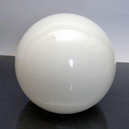 Klosz szklany KULA 20cm otw.montażowy 10cm- klosze do lamp