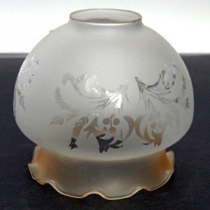 Klosz szklany K4350/11AMB- klosze do lamp