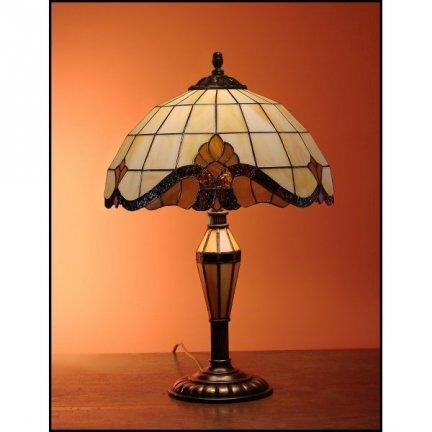 Lampka witrażowa nocna biurkowa CLASSIC H-48 cm