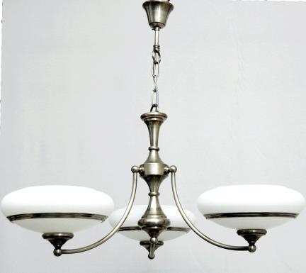 Żyrandol mosiężny JBT Stylowe Lampy WZMB/W63Z/3NM