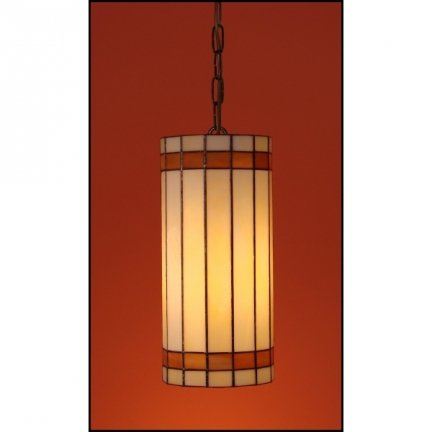 Lampa żyrandol zwis witraż NUOVA 14cm