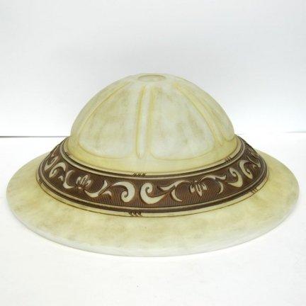 Klosz szklany duży 45cm do żyrandoli,lamp,E27