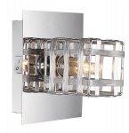 Cube - kinkiet plafon 1 płomienny chrom 208801-06