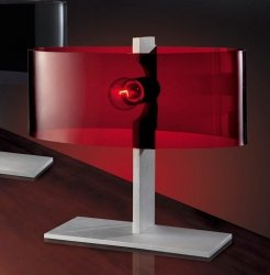 Lampka nocna ELIPSA MA2209-RED