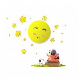 LAMPKA DZIECIĘCA SUN 0,6W LED Milagro