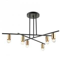 Lampa sufitowa NORMANI MDM3658/6 BK+BRO Italux