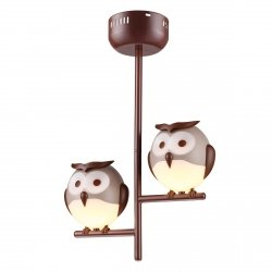 LAMPKA SUFITOWA OWL 2XG9 LED Milagro