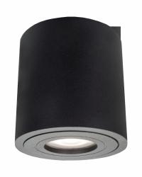 Faro XL oprawa natynkowa czarna IP44 LP-6510/1SM XL BK Light Prestige