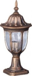 VASCO lampa zewnętrzna stojąca niska K-5007S2/N CZARNY/ZŁOTY KAJA