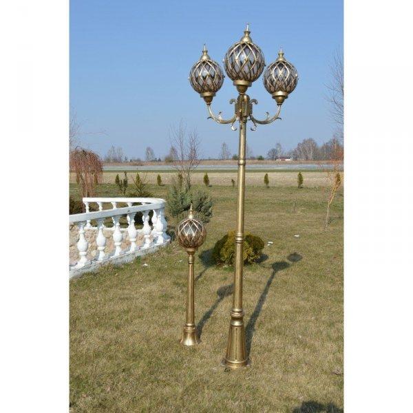 Latarnia ogrodowa SIRIUS F3 GOLD
