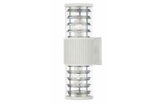 WYPRZEDAŻ Esterna - kinkiet zewnętrzny 2 płomienny biały NC31379-2RT