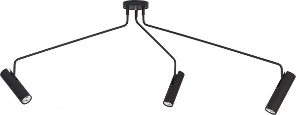 Lampa sufitowa EYE SUPER BLACK 6504
