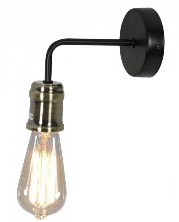 GOLDIE LAMPA KINKIET 1X60W E27 CZARNY+PATYNA (Z ŻARÓWKĄ 3030948) 21-56160 Candellux