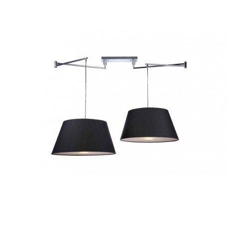 Lampa AZzardo Natalia 2 S Black MD2238-2S BK