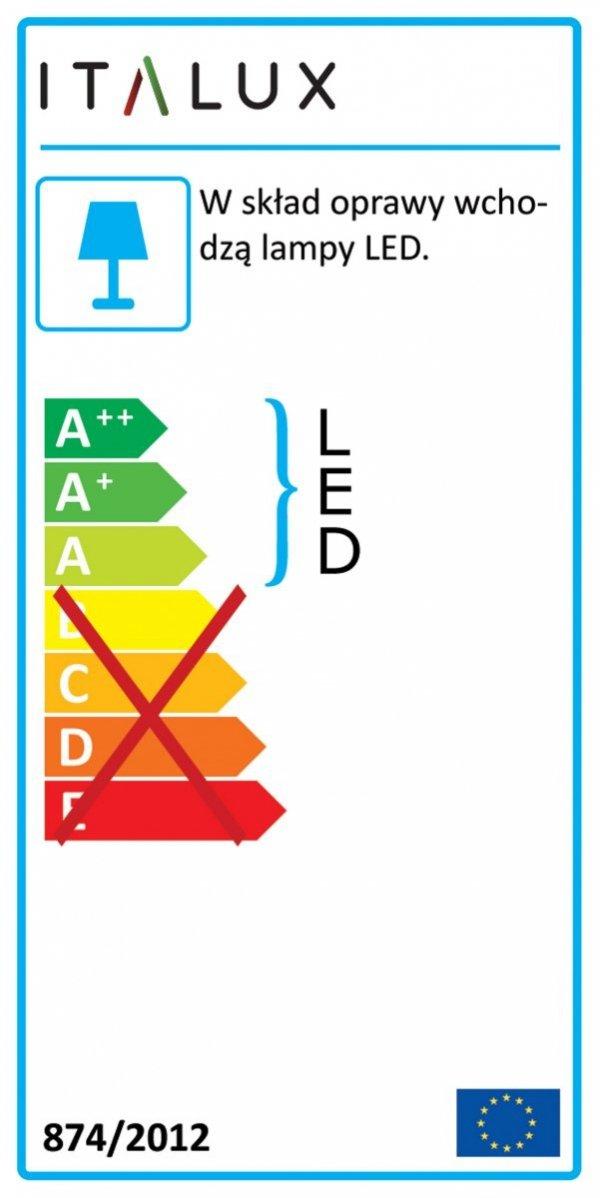 Lampa wisząca CAPITA MD17011011-1A GOLD Italux